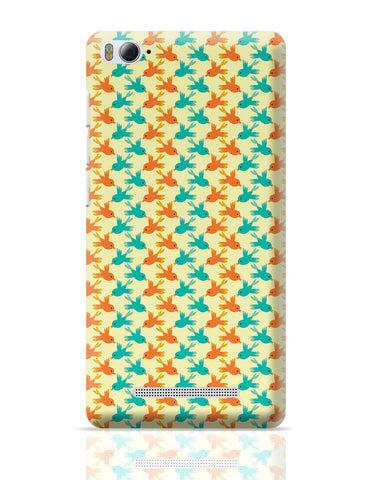 Xiaomi Mi 4i Covers | Vintage Birds Pattern Xiaomi Mi 4i Cover Online India