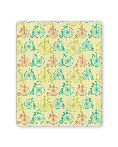 Buy Mousepads Online India | Vintage Circus Cycle Pattern Mouse Pad Online India