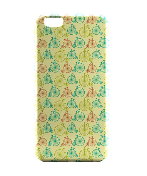 iPhone 6 Case & iPhone 6S Case | Vintage Circus Cycle Pattern iPhone 6 | iPhone 6S Case Online India | PosterGuy