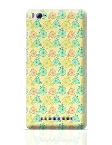Xiaomi Mi 4i Covers | Vintage Circus Cycle Pattern Xiaomi Mi 4i Cover Online India