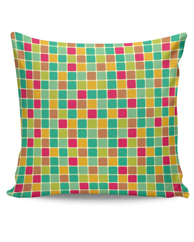 PosterGuy | Vintage Cubes Pattern Cushion Cover Online India