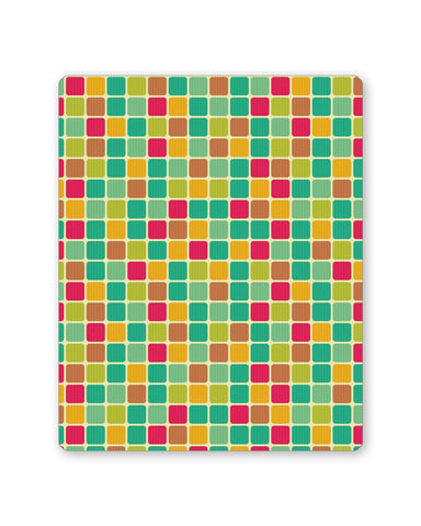 Buy Mousepads Online India | Vintage Cubes Pattern Mouse Pad Online India