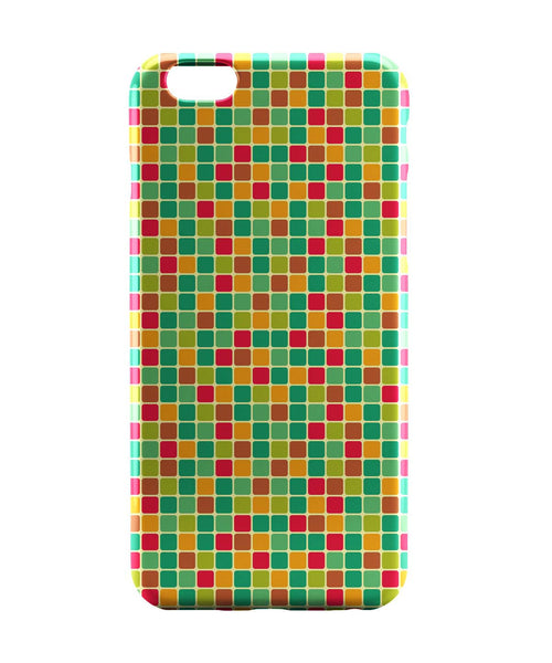 iPhone 6 Case & iPhone 6S Case | Vintage Cubes Pattern iPhone 6 | iPhone 6S Case Online India | PosterGuy