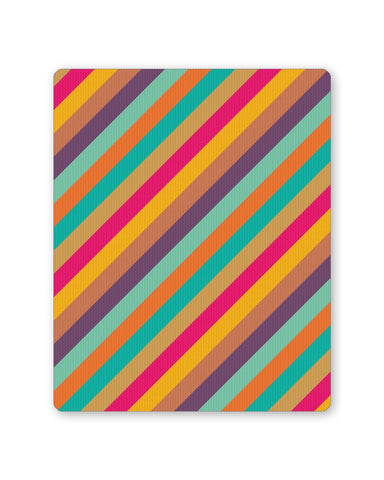 Buy Mousepads Online India | Vintage Diagonal Stripes Pattern Mouse Pad Online India