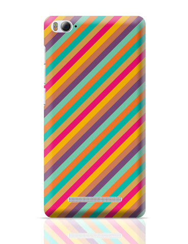 Xiaomi Mi 4i Covers | Vintage Diagonal Stripes Pattern Xiaomi Mi 4i Cover Online India