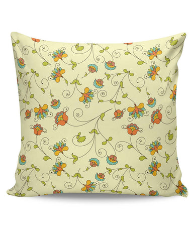 PosterGuy | Vintage Floral Pattern Cushion Cover Online India