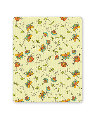 Buy Mousepads Online India | Vintage Floral Pattern Mouse Pad Online India