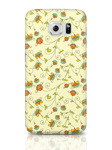 Samsung Galaxy S6 Covers & Cases | Vintage Floral Pattern Samsung Galaxy S6 Covers & Cases Online India