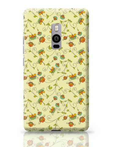 OnePlus Two Covers | Vintage Floral Pattern OnePlus Two Cover Online India