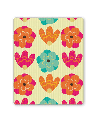 Buy Mousepads Online India | Vintage Flowers Pattern Mouse Pad Online India