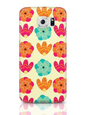 Samsung Galaxy S6 Covers & Cases | Vintage Flowers Pattern Samsung Galaxy S6 Covers & Cases Online India
