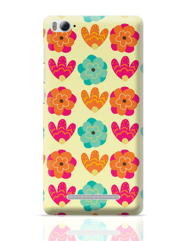 Xiaomi Mi 4i Covers | Vintage Flowers Pattern Xiaomi Mi 4i Cover Online India
