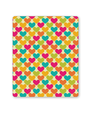 Buy Mousepads Online India | Vintage Hearts Pattern Mouse Pad Online India