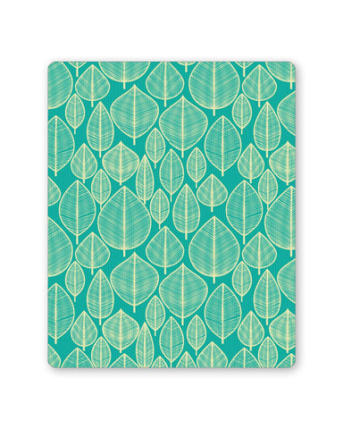 Buy Mousepads Online India | Vintage Leaf Pattern Mouse Pad Online India