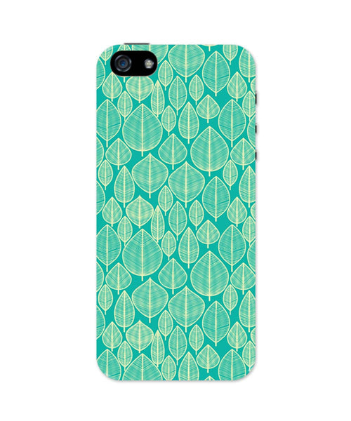 iPhone 5 / 5S Cases & Covers | Vintage Leaf Pattern iPhone 5 / 5S Case Online India