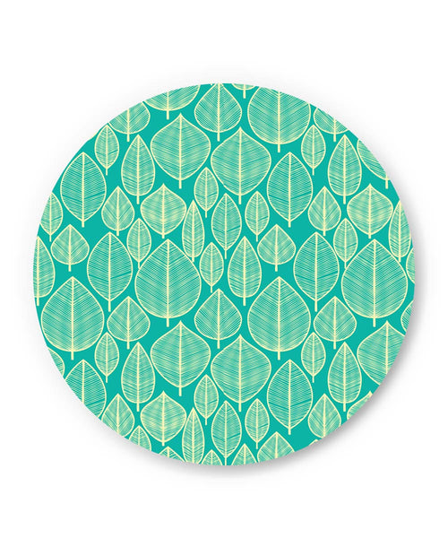 PosterGuy | Vintage Leaf Pattern Fridge Magnet Online India by Mayank Dhawan