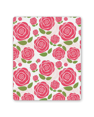 Buy Mousepads Online India | Vintage Roses Pattern Mouse Pad Online India