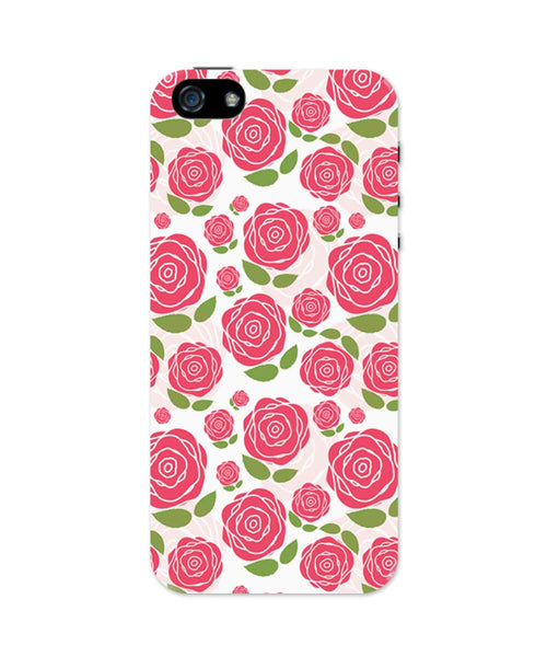 iPhone 5 / 5S Cases & Covers | Vintage Roses Pattern iPhone 5 / 5S Case Online India