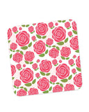 Buy Coasters Online | Vintage Roses Pattern Coaster Online India | PosterGuy.in