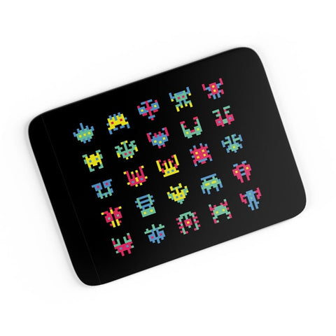 8 Bit Creatures Quirky  A4 Mousepad Online India