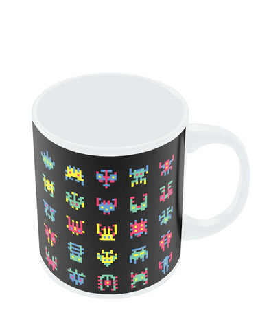 Coffee Mugs Online | 8 Bit Creatures Quirky Mug Online India