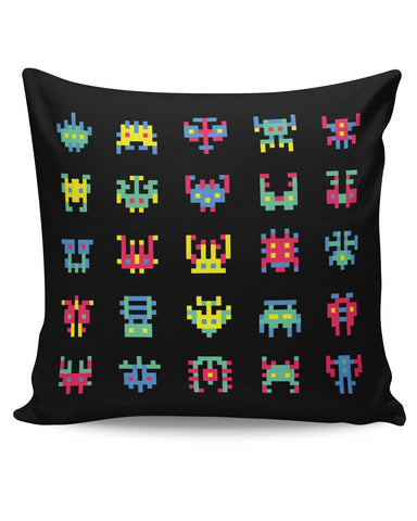 PosterGuy | 8 Bit Creatures Quirky Cushion Cover Online India