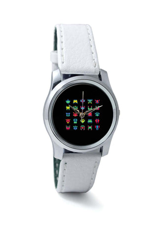 Women Wrist Watch India | 8 Bit Creatures Quirky Wrist Watch Online India