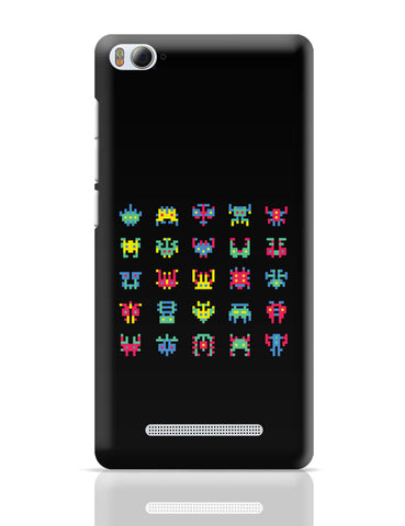 Xiaomi Mi 4i Covers | 8 Bit Creatures Quirky Xiaomi Mi 4i Cover Online India