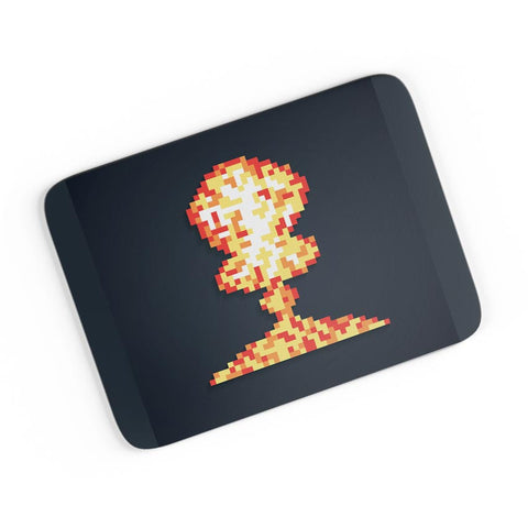 Boom Pixel Art Graphic Illustration  A4 Mousepad Online India