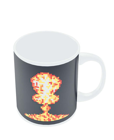 Coffee Mugs Online | Boom Pixel Art Graphic Illustration Mug Online India