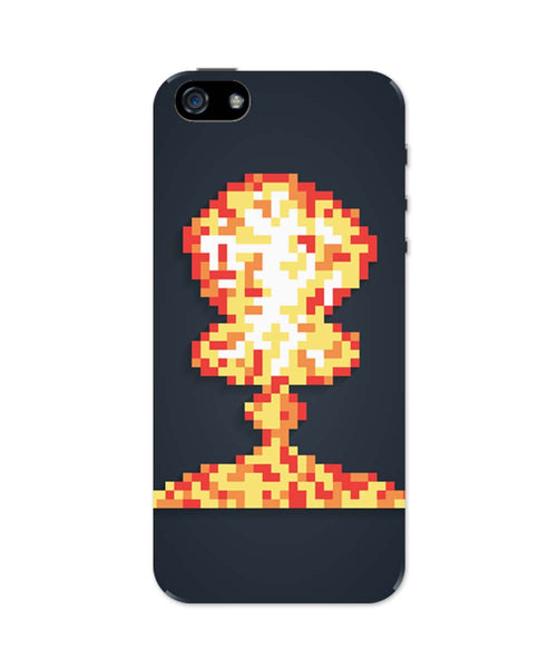 iPhone 5 / 5S Cases & Covers | Boom Pixel Art Graphic Illustration iPhone 5 / 5S Case Online India