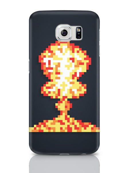 Samsung Galaxy S6 Covers & Cases | Boom Pixel Art Graphic Illustration Samsung Galaxy S6 Covers & Cases Online India