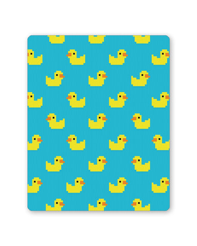 Buy Mousepads Online India | Cute Ducks Pixel Art Pattern Mouse Pad Online India