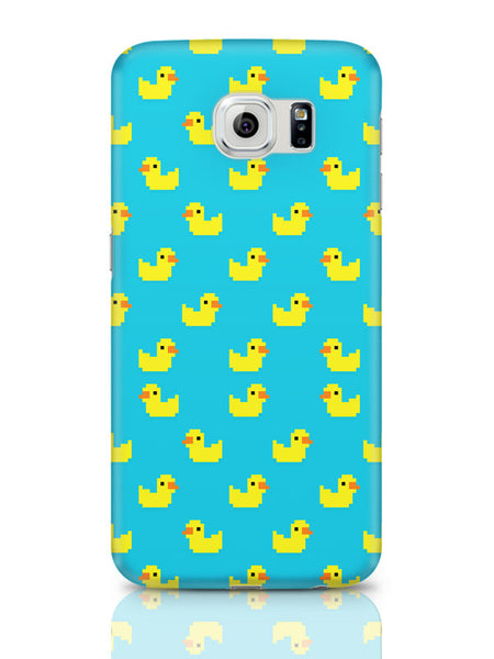 Samsung Galaxy S6 Covers & Cases | Cute Ducks Pixel Art Pattern Samsung Galaxy S6 Covers & Cases Online India