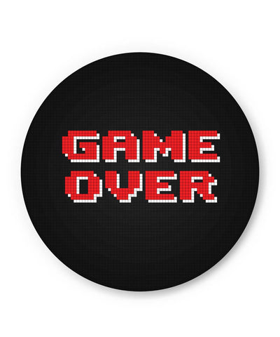 PosterGuy | Game Over 8 Bit Pixel Fridge Magnet Online India by Mayank Dhawan