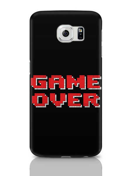 Samsung Galaxy S6 Covers & Cases | Game Over 8 Bit Pixel Samsung Galaxy S6 Covers & Cases Online India