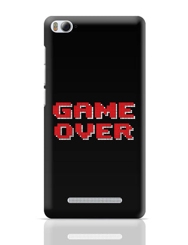 Xiaomi Mi 4i Covers | Game Over 8 Bit Pixel Xiaomi Mi 4i Cover Online India