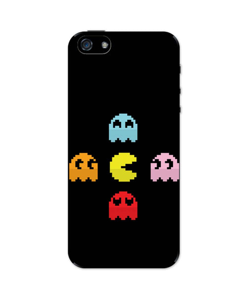 iPhone 5 / 5S Cases & Covers | Pixel Art Pac man Inspired Characters iPhone 5 / 5S Case Online India