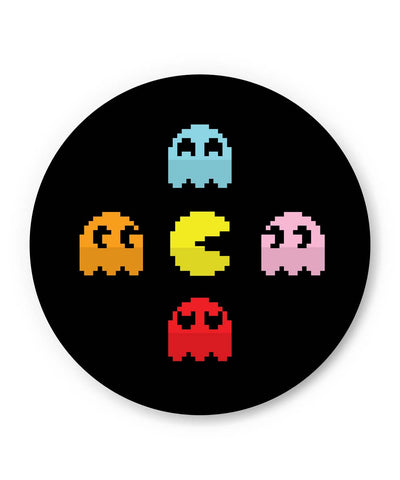 PosterGuy | Pixel Art Pac man Inspired Characters Fridge Magnet Online India by Mayank Dhawan
