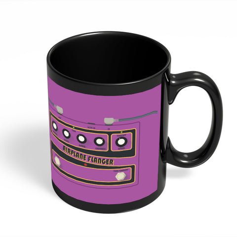 Coffee Mugs Online | Airplane Flanger Guitar Effects Pedal Black Coffee Mug Online India