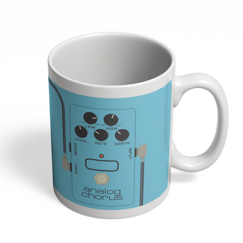 Coffee Mugs Online | Analog Chorus Guitar Effects Pedal Mug Online India