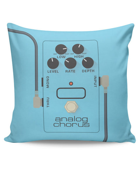 PosterGuy | Analog Chorus Guitar Effects Pedal Cushion Cover Online India