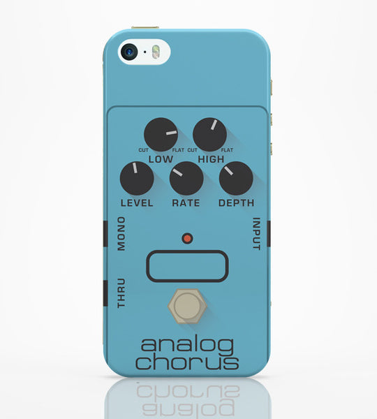 iPhone 5 / 5S Cases & Covers | Analog Chorus Guitar Effects Pedal iPhone 5 / 5S Case Online India