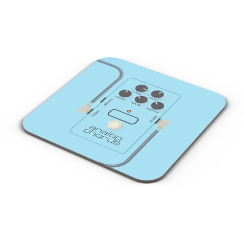 Buy Coasters Online | Analog Chorus Guitar Effects Pedal Coaster Online India | PosterGuy.in