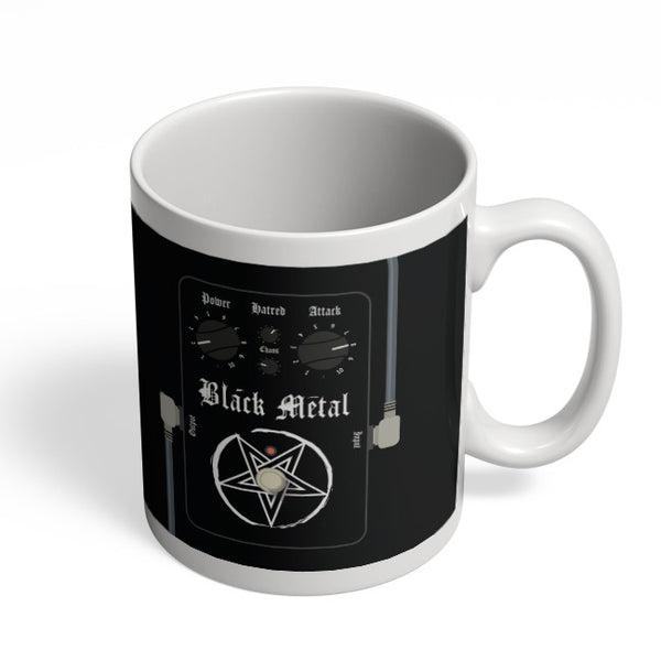 Coffee Mugs Online | Black Metal Guitar Effects Pedals Mug Online India
