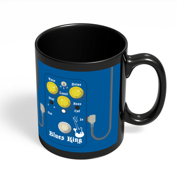 Coffee Mugs Online | Blues Master King Guitar Effects Pedal Black Coffee Mug Online India