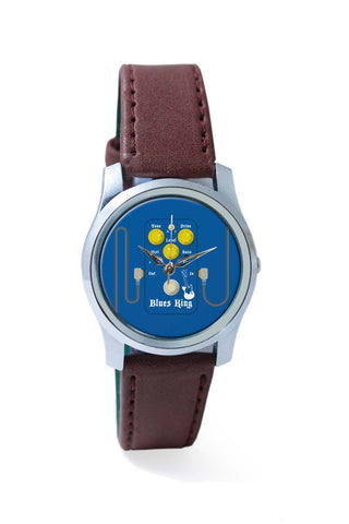 Women Wrist Watch India | Blues Master King Guitar Effects Pedal Wrist Watch Online India