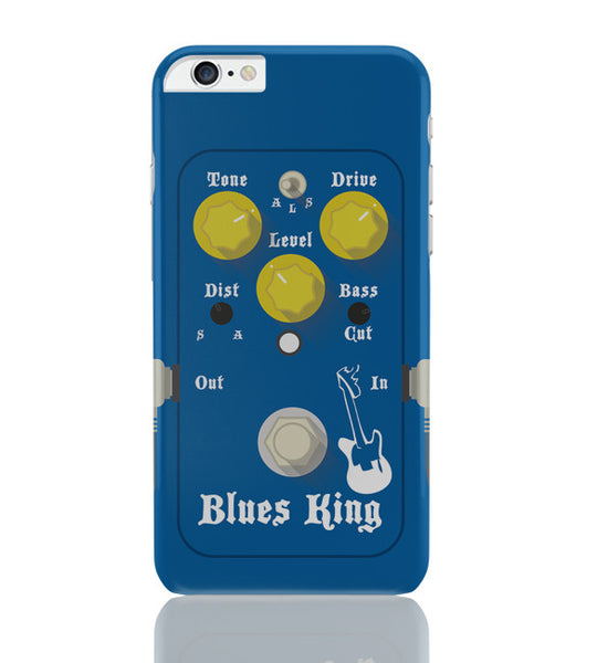 iPhone 6 Plus/iPhone 6S Plus Covers | Blues Master King Guitar Effects Pedal iPhone 6 Plus / 6S Plus Covers Online India
