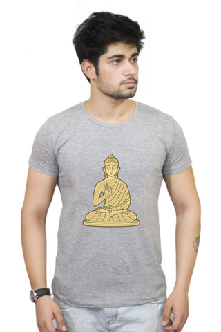 Buy Lord Buddha Meditating  T-Shirts Online India | Lord Buddha Meditating  T-Shirt | PosterGuy.in