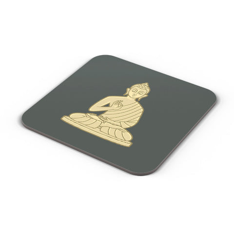 Buy Coasters Online | Lord Buddha Meditating Coaster Online India | PosterGuy.in